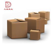 Usine OEM personnalisé imprimé 5 couche boîte de carton ondulé