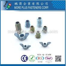 Taiwán Acero inoxidable 18-8 Acero chapado en níquel Fabricación de latón de latón Fabricación Cercado sujetadores sujetadores de muebles