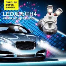 H4 CREE LED 18W Blanc DC8-28V Antibrouillard LED