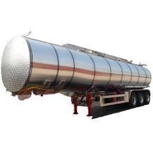 Remolque cisterna de transporte de aceite de alimentos licuados