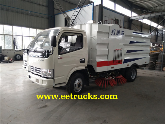 5-8 CBM Road Sweeper Trucks