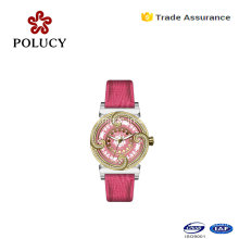 New Style High Quality Nice Looking Lady Fashion Leather Quartz Watch