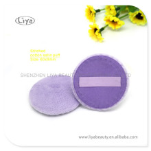 Coton violet Pad maquillage Puff