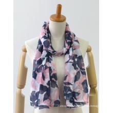 Latest colorful long classic printing jacquard ladies shawl