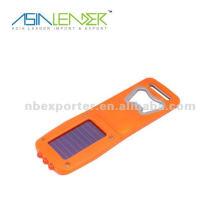 Abridor de botellas linterna recargable solar