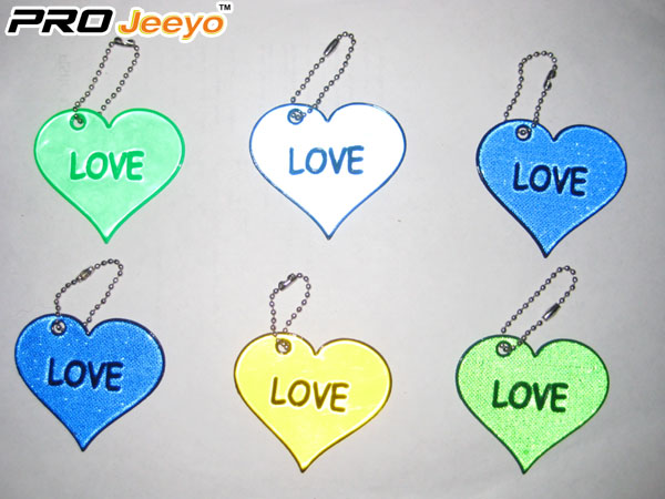 OEM Love Reflective Pendant For Valentine Gift RV-201B 2