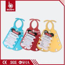 BOSHI BD-K52 Alumínio Lockout Hasp wirh CE RoHS para Industrial Lockout Tagout