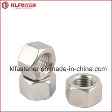 Aço Inoxidável A2-70 Porcas hexagonais ISO4032 ISO4033 DIN934