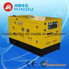 Générateur diesel de 50kw Yuchai d'utilisation à la maison Type silencieux