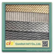 Forme el nuevo diseño bastante colorido que hace punto la tela del telar jacquar