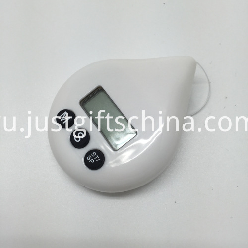 Promotional Plastic Water Drop Shaped Timer_1