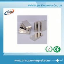 ISO9001 a certifié l'aimant permanent de bloc de néodyme de N42