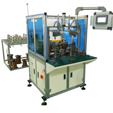 Machine de bobinage automatique de bobine de stator à roue de roulement de la station de travail double