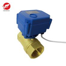 La válvula de control motorizada de flujo de agua automática más duradera