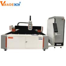 Máquina de corte por láser de fibra de metal 1000W