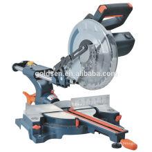 """Neue 255mm 10 """"1900w Power Holz Schneiden Slide Compound Gehrungssäge Elektrische Aluminium Cut Off Maschine"""
