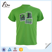 Man Green Custom T Shirt Sublimated Sportswear
