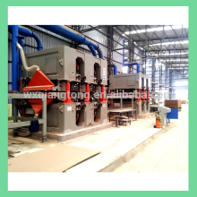 MDF Calibrating sander machine/ double sided sanding machine for particble board