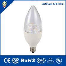 PF0.6 Dimming 4.5W 7W E12 E26 LED Candle Light