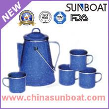 Enamel Percolater Coffee Pot Sets