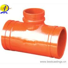 Tissu à réduction rainurée en fer ductile de haute qualité
