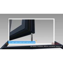 accessoires en aluminium poignées de porte et fenêtre / charnière pivotante pour porte en aluminium