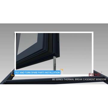 aluminium accessories door and window handles/ pivot hinge for aluminium door