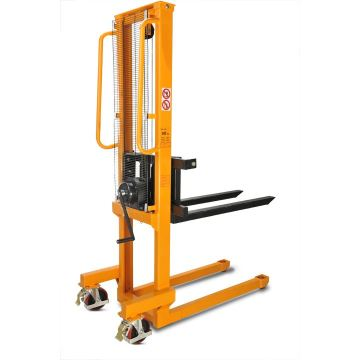 1000kg tangan forklift manual U-steel hydraulic stacker