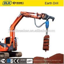 Tarière hydraulique de foret de terre d'excavatrice pour la pelle 15-22tons