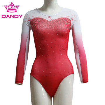 Sublimerade Ombre Gymnastics Leotards Australien