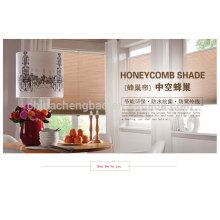 Vente en gros en nid d'abeille aveugle celluar aveugle pour salle de bain salon