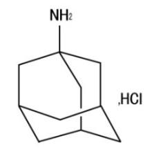 Amantadin HCl CAS-Nr. 665-66-7 1-Adamantanamin-Hydrochlorid