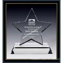 Prêmio de estrela de cristal de excelência 7 polegadas de altura (NU-CW864)