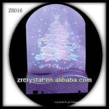 Base de LED muito leve para presente de Natal