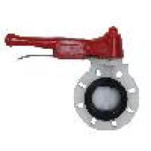 PVDF Válvula Borboleta (D71X-6F), Válvula Borboleta Plástica