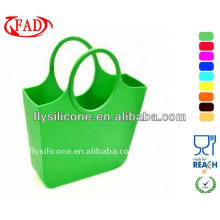 High Quality Food Grade Silicone Woman Hand Carry Bag