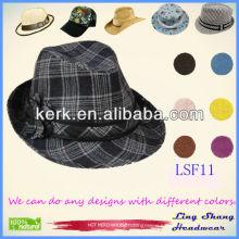 2013 Newest Elegant Flower Women Fabric Fedora Hat,LSF11