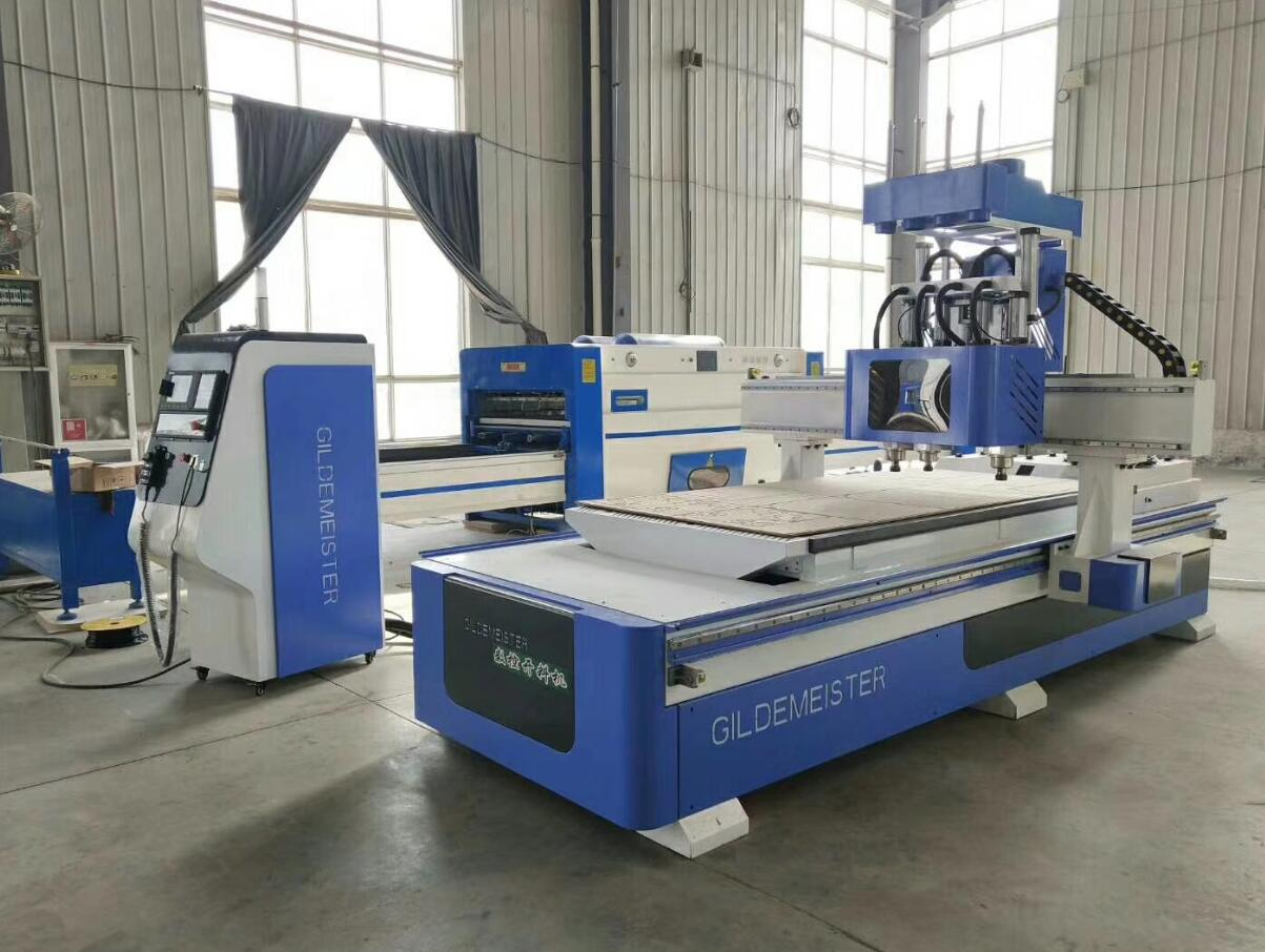 triple heads cnc router machine