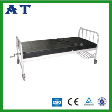 Spray double-folding bed for hospital