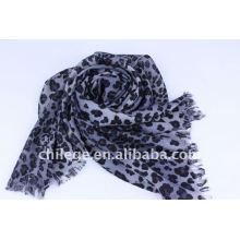 Leopard printed scarf