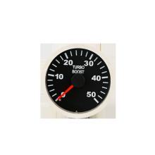 Medidor de tacômetro de voltagem de 52 mm cromado para automóveis
