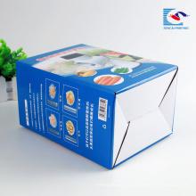 Caja de papel de empaquetado corrugado del juguete de la impresión que dobla de encargo