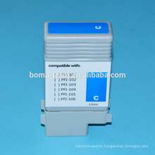 130ml * 6colors Compatible Ink Cartridges For Canon PFI 102 PFI-104 with chip and inks
