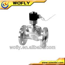 Válvula Solenóide Miniatura em Aço Inoxidável