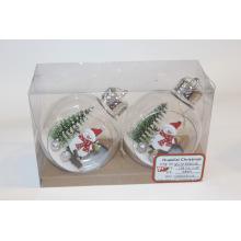 Pendurar Natal Decoração Boneco de neve Árvore Ornamentos de suspensão