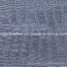 Diseño de moda de cuero de PVC (QDL-51460)