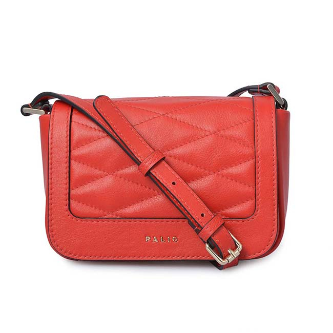 Soft and smooth genuine leather Women Crossbody Shoulder Bag