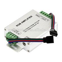 Repetidor do amplificador de sinal do RGB para 10m / 32.8ft 4 Pin RBG 5050 luzes de tira do diodo emissor de luz de 3528, 12V a 24V 12A CC