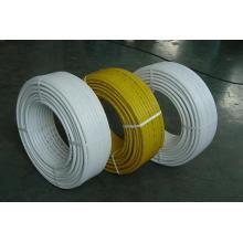 Tubo de plástico (HDPE, pex-al-pex 16-32), tubería de gas frío y tubería de agua caliente
