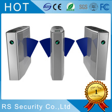 Glass Wing Speed ​​Gate Flap Turnstile Barrier